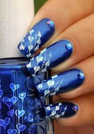 cool blue nail 2