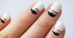 metalic nails for slider